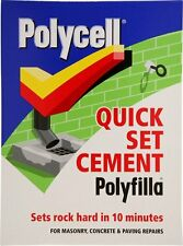 Polycell 20204 2 kg Quick Set Cement Polyfilla - Grey