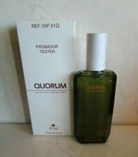 ANTONIO PUIG QUORUM EAU DE TOILETTE 3.4 OZ WHITE BOX