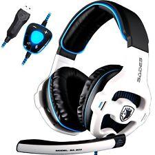 Cuffia Gaming con Microfono SADES SA903 Gaming Headset 7.1 Controllo del volume