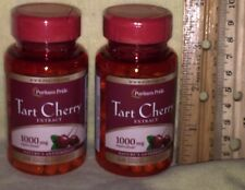 TWO Tart Cherry EXTRACT, from Puritan' Pride.  120 capsules (total), 250 mg each