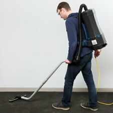 Commercial Janitorial 6 Qt Backpack Vacuum w/ HEPA Filtration & 8 Piece Tool Kit