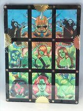RANTZ ANGELS Sadlittles 2010 9 PIECE SKETCH CARD PUZZLE by RICH MOLINELLI (1/3)