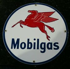 Mobil Gas Oil Gas Porcelain Advertising sign