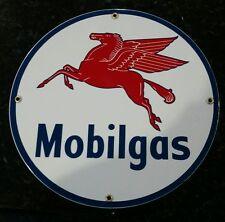 Mobil Gas Oil Gas Porcelain Advertising sign