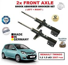 FOR RENAULT TWINGO 1.2 1.5 dCi 2007->on 2x FRONT LEFT + RIGHT SHOCK ABSORBER SET