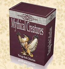 Mythical Creatures 80 Rare Books on DVD Monster Dragon Legend Magical Mermaid H9