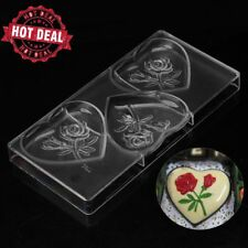 Candy molds personalized large heart baking mold polycarbonate chocolate moulds