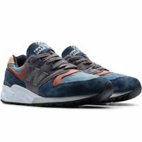 NIB New Balance MENS M999JTC CLASSIC BLUE GREY TAN LIFESTYLE SNEAKERS 8-13