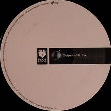 """Delysid 25 – E Footlovers Music – FLMLTD E NEW VINYL 12"""""""