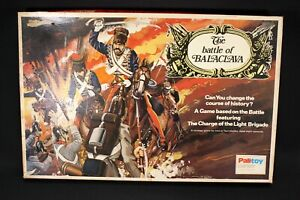 THE BATTLE OF BALACLAVA 1975 BY PALITOY - COMPLETE - GC