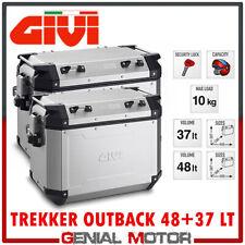 Borse Laterali Givi Trekker Outback 48Lt + 37Lt Bmw R 1200 Gs 2009 09