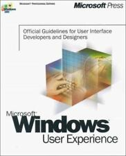 Microsoft Windows User Experience : Official Guidelines for User Interface...