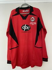 2006 Long Sleeved Clyde Challenge Cup Final Shirt - XL