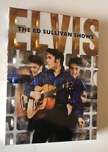RARITA' COLLECTOR'S EDITION 3 DVD BOX SET ELVIS PRESLEY THE ED SULLIVAN SHOWS