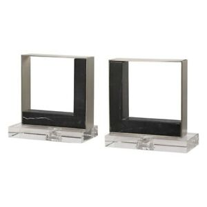 Uttermost Tilman Modern Marble Bookends, Set of 2 - 17865