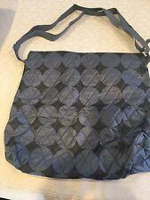 Similac Diaper Baby Bag Grey And Black Top Zipper
