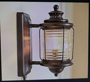Pottery Barn Kids DEPOT WALL LAMP 6556401 Bronze Corded RARE OUT OF PRODUCTION