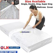 Heavy Duty Single Double King Super Bed Mattress Bag Dust Protection 400 GaugeUK