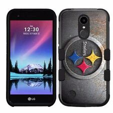 for LG K20 Plus/LG V5 Impact Armor Rugged Hybrid Case Pittsburgh Steelers #R