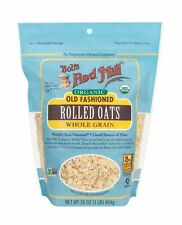New listing Bob's Red Mill Organic Oats Rolled Regular, 16 Ounce (Pack of 4)