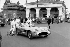 Mercedes Benz 300 SLR Gullwing 1955 Mille Miglia automobile racing photo photo