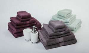 "7 Pieces ""MILDTOUCH"" 100% Combed Cotton Bath Towel Set $45 or Bath Sheet Set $55"