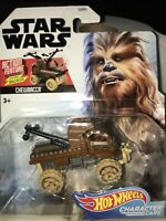 Star Wars CHEWBACCA Character Car Action Feature Series RARE Disney DieCast