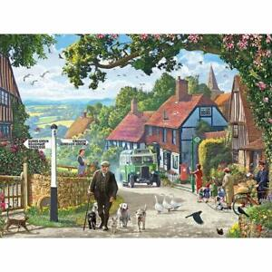 """Bits and Pieces - 300 Piece Jigsaw Puzzle for s 18"""" X 24"""" - The Country Bus - 30"""