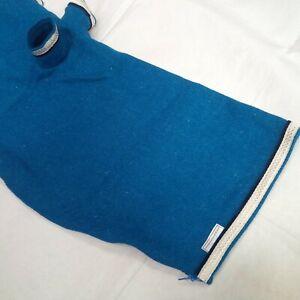 Harris Tweed Bagpipe Cover (Blue, Silver Braid trim)