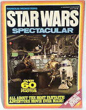 STAR WARS : FAMOUS MONSTERS STAR WARS SPECTACULAR MAGAZINE PRINTED IN 1977
