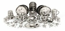 New Home Kitchen Stainless Steel Dinner Set of 61 Pieces