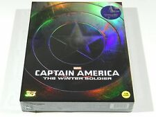 Captain America The Winter Soldier (3D+2D) Blu-ray Steelbook KimchiDVD #300/1150