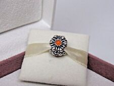 New w/Box Pandora July Carnelian Birthday Bloom Charm #790580CAR RETIRED