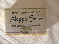 Aleppo Olivenölseife mit Schwarzkümmel 100% Naturseife 100g/stck  100g= 5,00€)