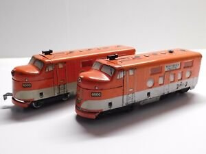 O Scale - MARX - Southern Pacific #6000 Powered & Unpowered Locomotive Trains
