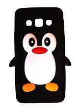 Black Silicone Penguin Phone Case / Cover for Samsung Galaxy Grand Prime