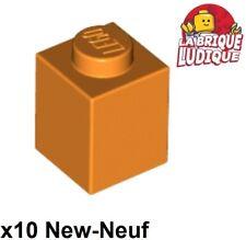 1 x 1 LEGO 20 x plaque ronde transparent Neon Orange 4073-plate-Neuf//New