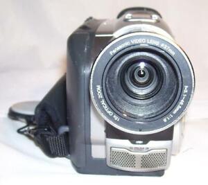 Panasonic NV-DS38B Mini DV Camcorder. IR NightVision. VGC. DV/AV-in. 1 yr warnty