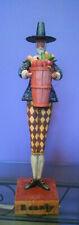 2004 Jim Shore Heartwood Creek Bounty Enesco Fall Thanksgiving Pilgrim Figurine