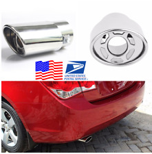 1.5-2.2'' Stainless Steel Car Exhaust Tail Pipe Muffler Tip from US Warehouse