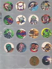 38 Count Lot Poison And Sports Pogs Must Have