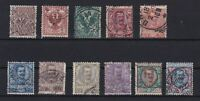 ITALY 1901 USED STAMPS PART SET   REF 5945