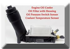 Kit of Housing W/Engine Oil Cooler+Oil Filter+Oil Pressure & Temperature Sensors
