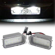LED License Number Plate Light 18LED For Ford Fiesta S-MAX Crand C-max Kuga 2PCS