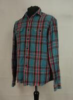 Ralph Lauren Blanket Shirt Mens Size L Large Fit Long Sleeve Cotton Plaid Check