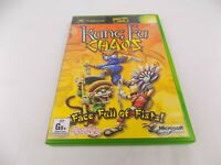 Mint Disc Xbox Original Kung Fu Chaos Free Postage
