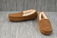 **Fireside by Dearfoams 21810 Slippers - Men's Size 9, Brown-NEW