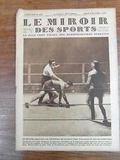 LE MIROIR DES SPORTS No 455 année 1928 : Boxing MARCEL THIL Bat JOE BLOOMFIELD