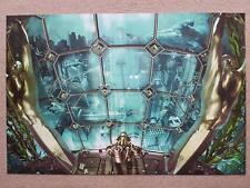 Bioshock by Chris Skinner Variant Print Poster Black Light Ink Mondo Bottleneck