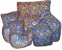 Thomas The Tank Engine Beanbags, Childrens Bean Chair's, Kids Bean bag Sofa's